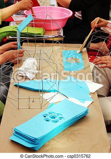 Arts and crafts - csp0315762