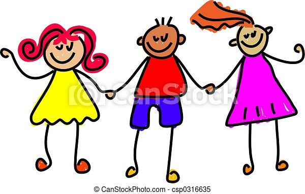 happy kids - csp0316635