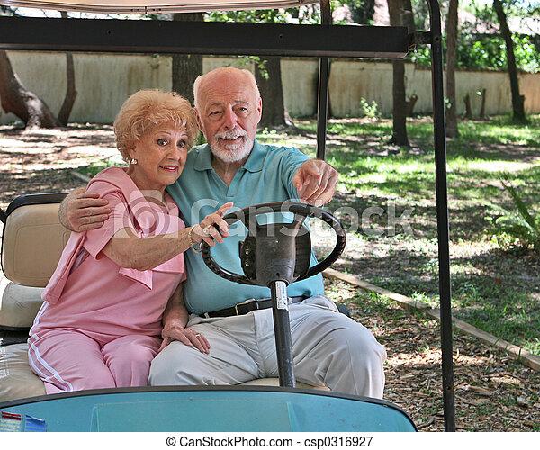 Golf Cart - Sightseeing - csp0316927