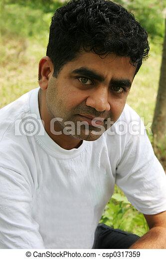 Indian Man - Royalty Free Stock Photo - csp317359