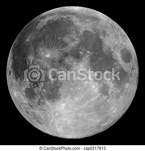 full moon - csp0317613