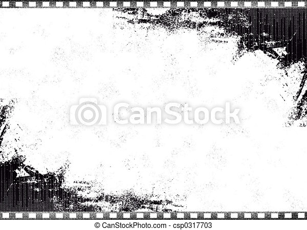 Old Single Film - csp0317703
