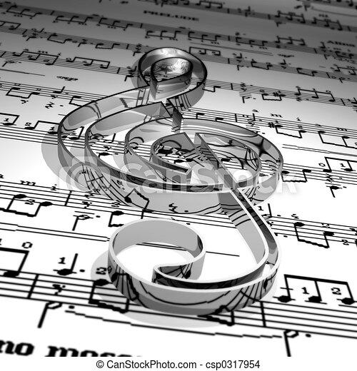 音楽 - csp0317954