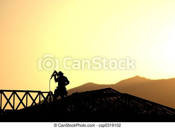 Construction Worker  - csp0319102
