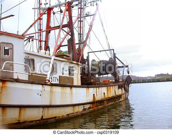 Old Fishing Vessel - csp0319109