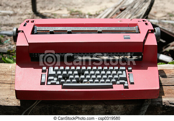 typewriter - csp0319580