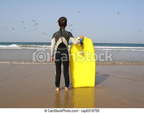 Surfer Boy - csp0319755