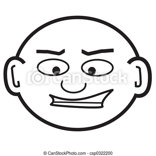 bald punky dude - csp0322200