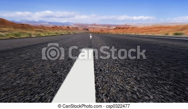 on the road - csp0322477