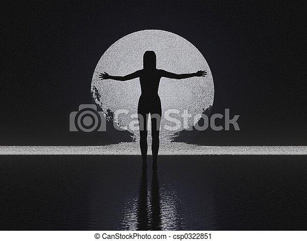 Silhouette Sketch