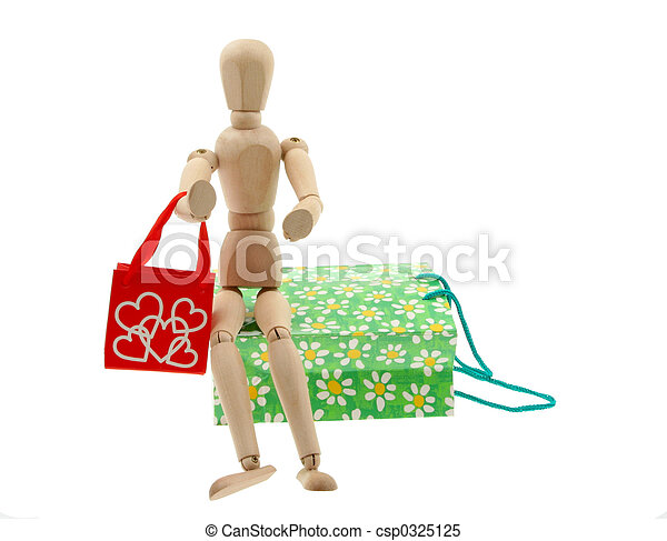 addicted to shopping - csp0325125