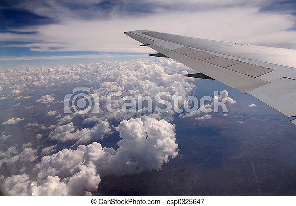 Aeroplane wing - csp0325647