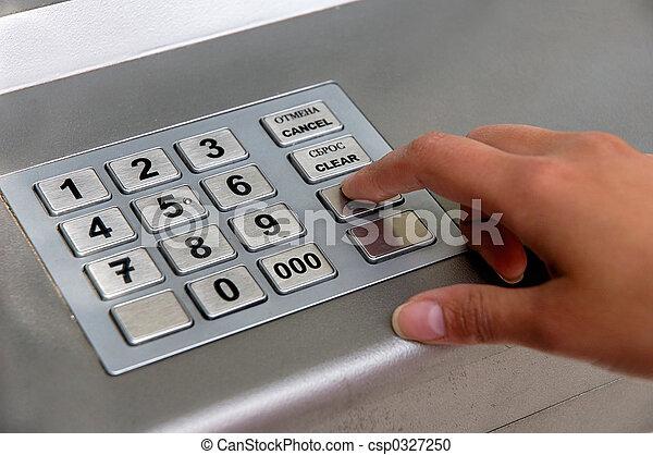 ATM dial - csp0327250