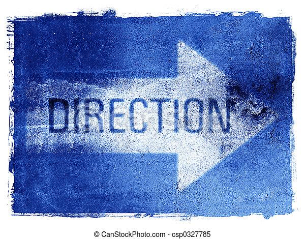 Direction Arrow - csp0327785