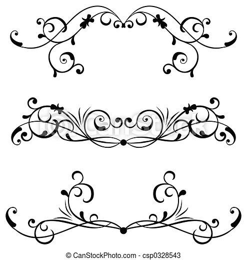 Element for design, vector - csp0328543