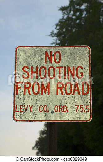 No Shooting - csp0329049