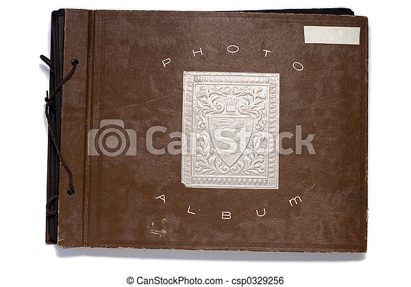 Antique Photo Album - csp0329256