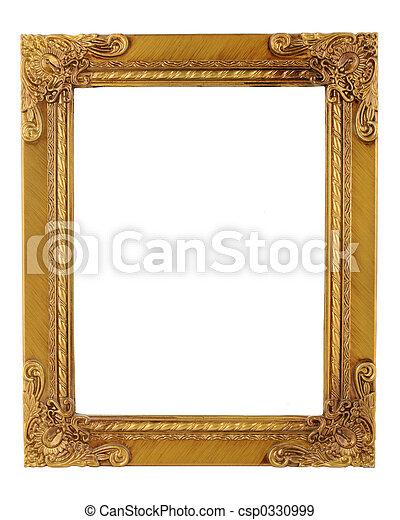 gold frame - csp0330999