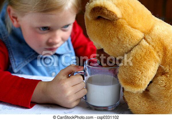 Drink milk! - csp0331102
