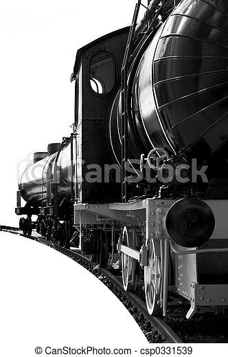 steam locomotive - csp0331539