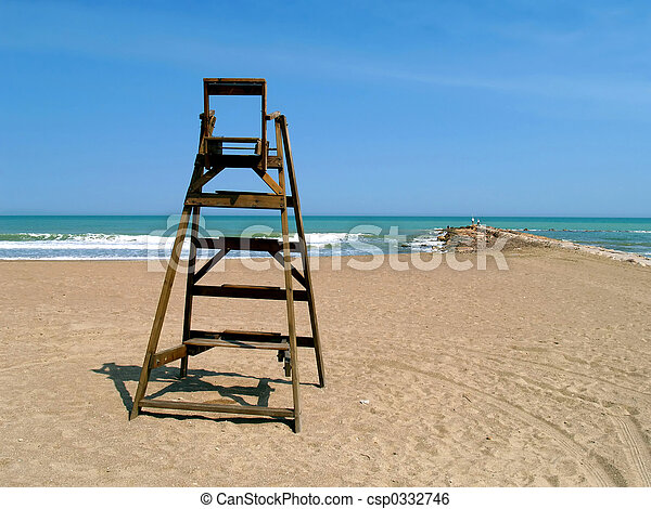 Beach lifeguard chairs images for Chaise de poste