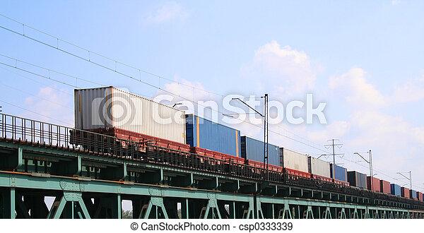 Cargo train - csp0333339