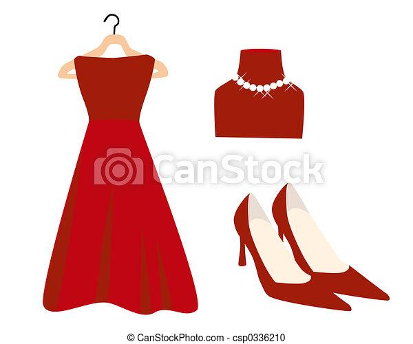 Red Fashion - csp0336210