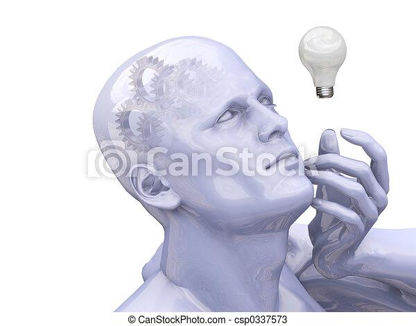 Bright idea - csp0337573
