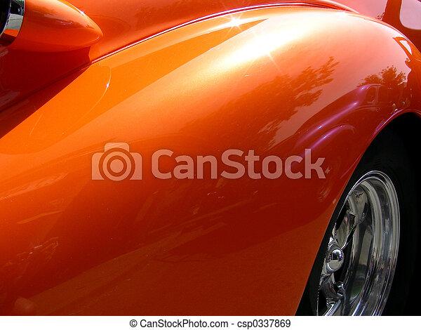 Orange Fender - csp0337869