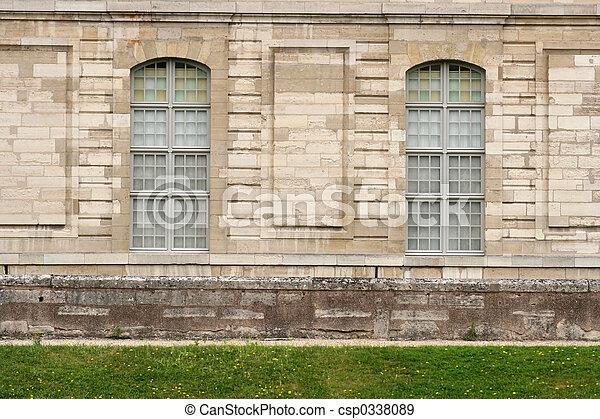 Residence facade - csp0338089