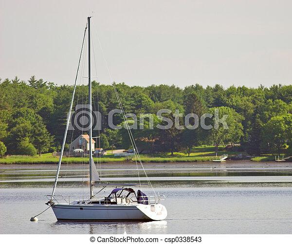 sailboat - csp0338543