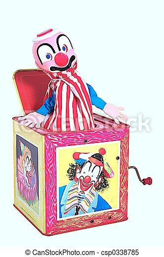 caixa, macaco - csp0338785