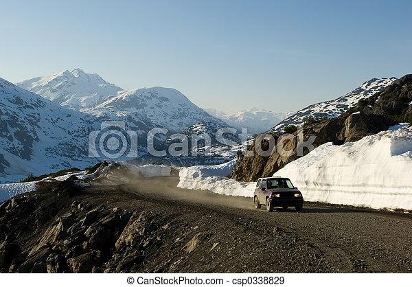 SUV adventure - csp0338829