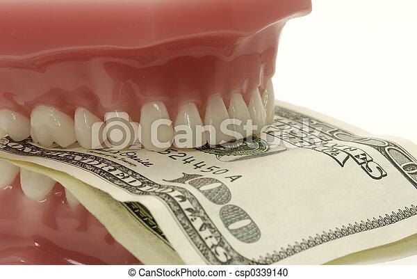 dentaire, coûts - csp0339140
