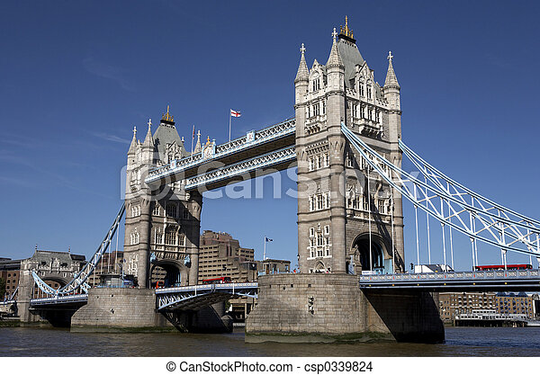london tower bridge - csp0339824