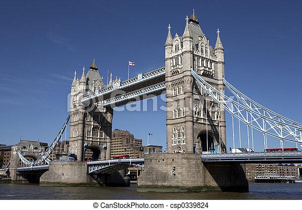 london tower bridge - csp0339824