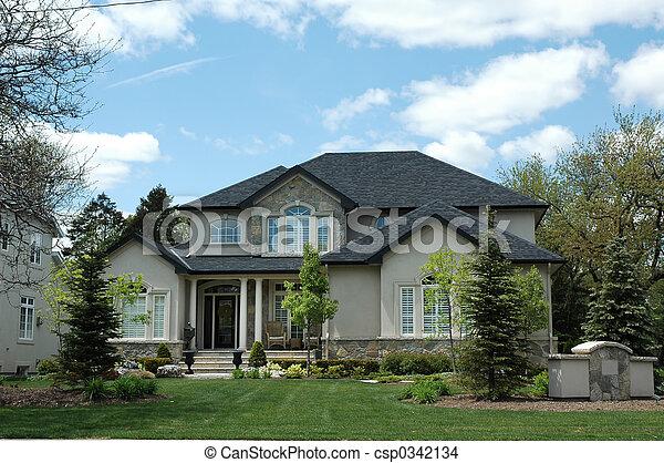Photo de maison pierre housestucco stuc stuc et for Maison en stuc