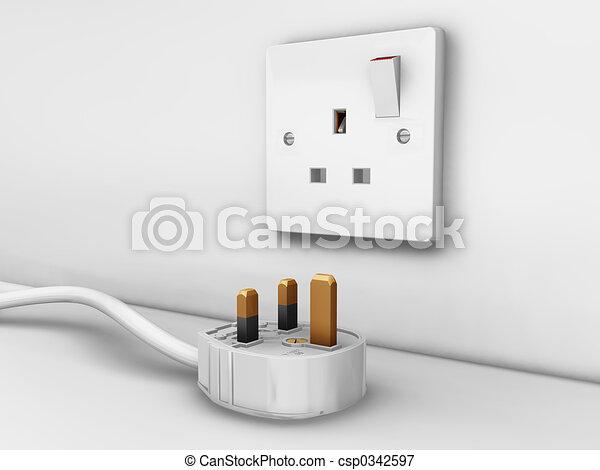 Plug socket - csp0342597