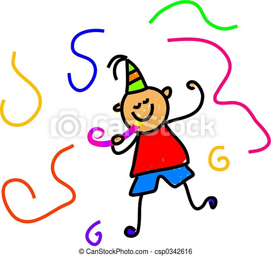 party kid - csp0342616