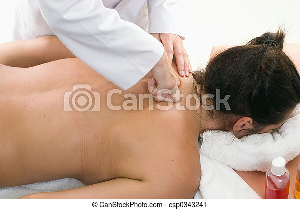 Deep Tissue Massage - csp0343241