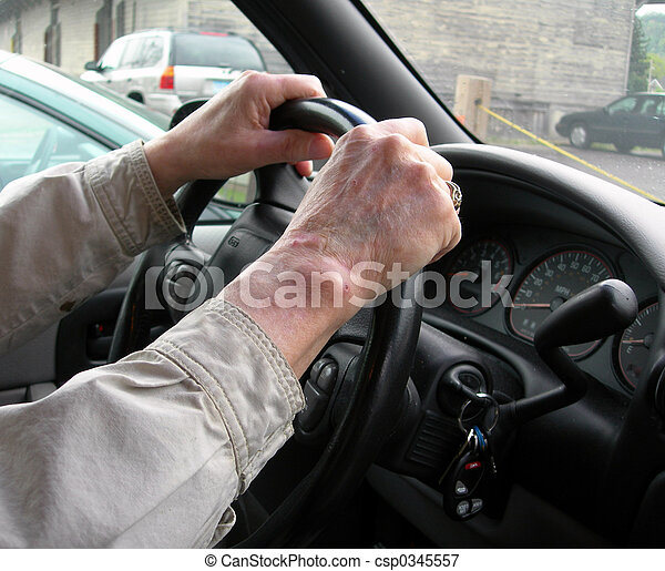 Elderly driver - csp0345557