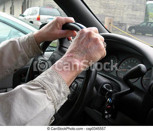 Elderly driver - csp0345557