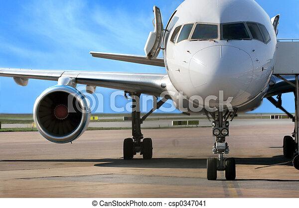 avión, empresa / negocio - csp0347041