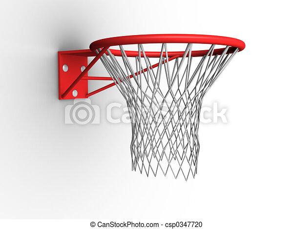 Basketball Hoop - csp0347720