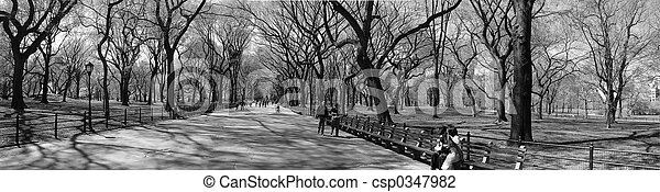 Slow New York Minute - csp0347982