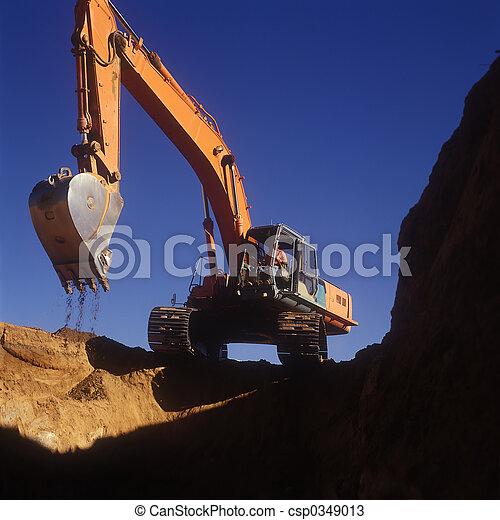 Construction Dig - csp0349013