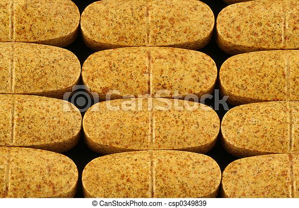 dietary supplement pills - csp0349839