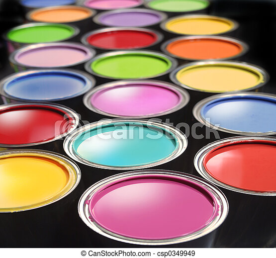 Paint buckets - csp0349949
