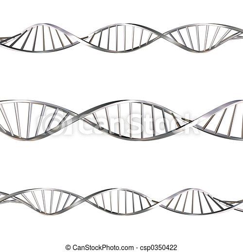DNA strands - csp0350422