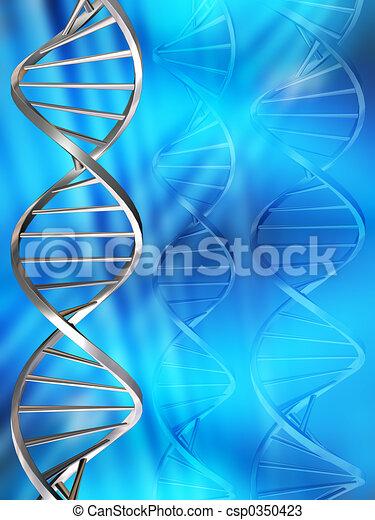 DNA strands - csp0350423